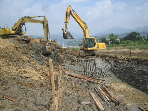 松木桩施工方案